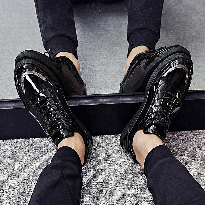 Other nouveau mode Hommes's Spbague nouveau Leisure Korean Youth Sports Board Glace cuir chaussures-or à prix pas cher