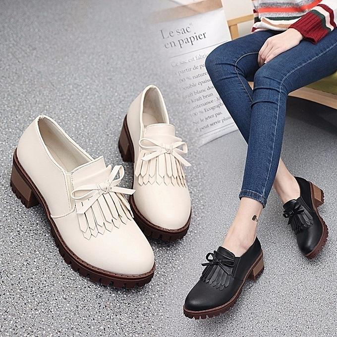 Autre 5cm Middle Heel pas Tassel Single Shoes à prix pas Heel cher    Black Friday 2018   Jumia Maroc 8ffb40