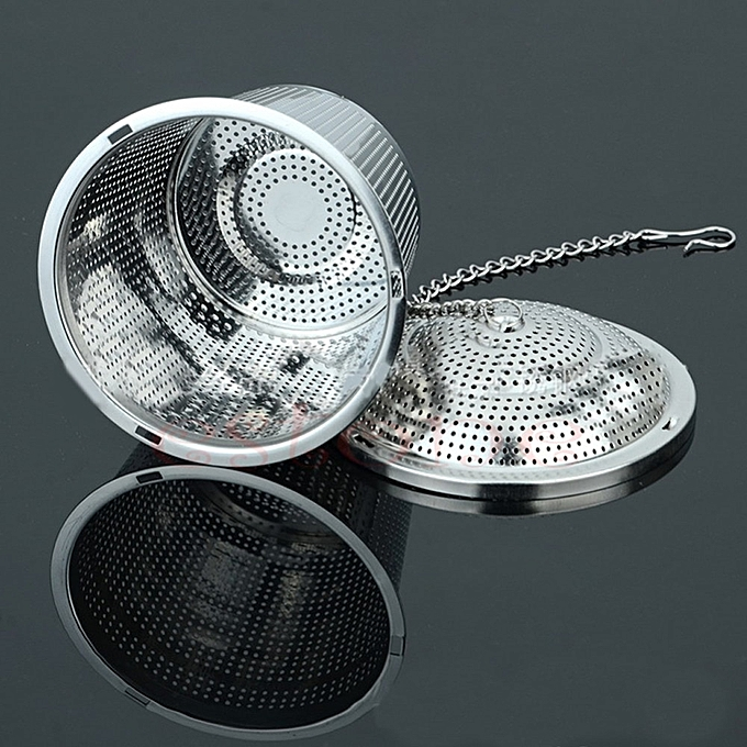 Other New 304 Stainless Steel Practical Tea Ball Strainer Mesh Infuser Filter Herbal WAAAB à prix pas cher
