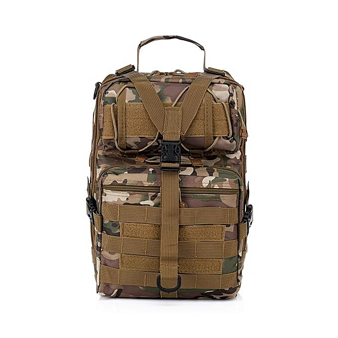 Fashion Men Oxford Tactical Chest Pack Molle Slingle Shoulder Backpack Sling Bag CP à prix pas cher