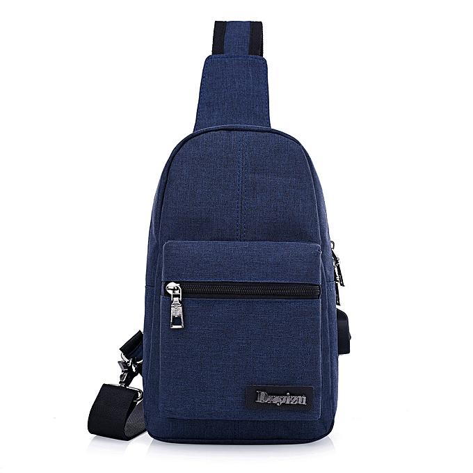 OEM mode Package Simple Rechargeable Chest sac sac à dos Shoulder sac à prix pas cher