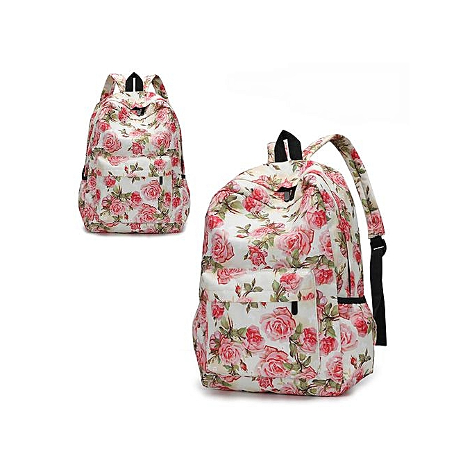 Fashion Xiuxingzi_Fresh Style femmes Backpacks Floral Print Bookbags Female Travel Backpack à prix pas cher