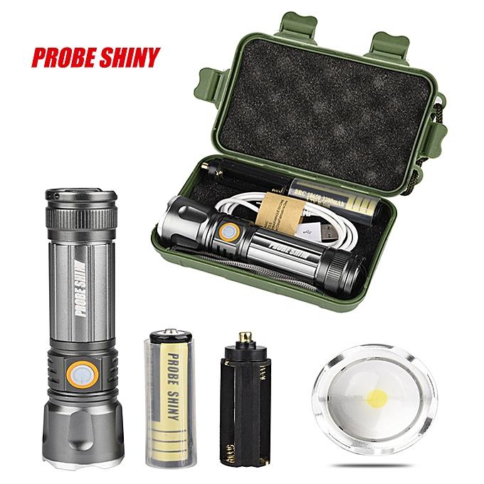 Electronic LED 3000LM MINI USB Rechargeable Flashlight Torch Portable à prix pas cher