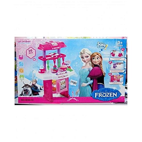 La Neiges Smoby Frozen Des Reine Cuisine Nwm8n0