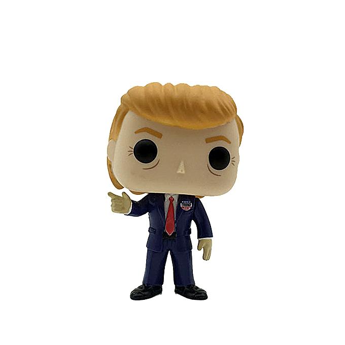 Autre Funko Pop Donald Trump President Campaign 2016 Doll Model Decoration Vinyl Action Figure Collection Toy for Enfants à prix pas cher