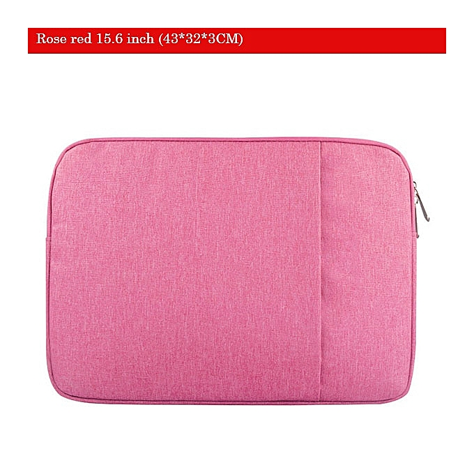 Other Soomile 2018 Brand 12-15 inch Laptop sac Male Simple Prougefolio Office Briefcase imperméable anti-thef aseismatic Affaires sacs(Rose rouge 15.6 inch) à prix pas cher