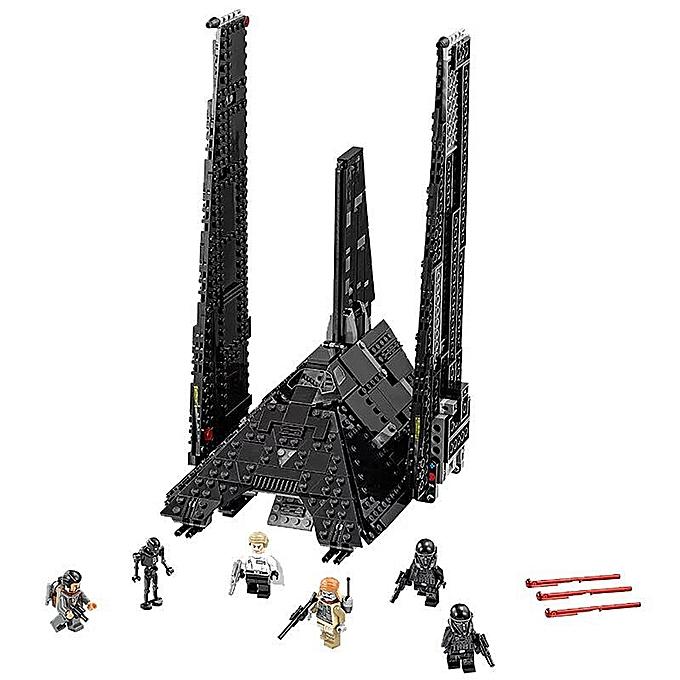 Autre LEPIN 05049 863pcs Star Wars Series Krennic's Imperial Shuttle Building Blocks Kit Set - Plastic Bag Package à prix pas cher