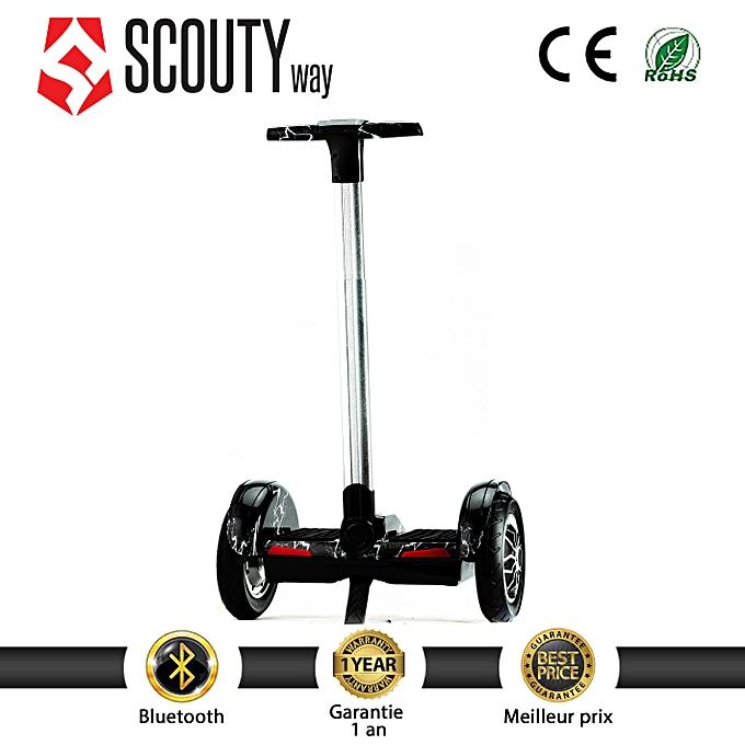Scoutyway Scooter MINI Segway bleutooth-Flash noir blanc à prix pas cher