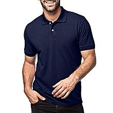 free shipping 9e3dc 269a3 T-shirt Polo Bleu Marine Homme