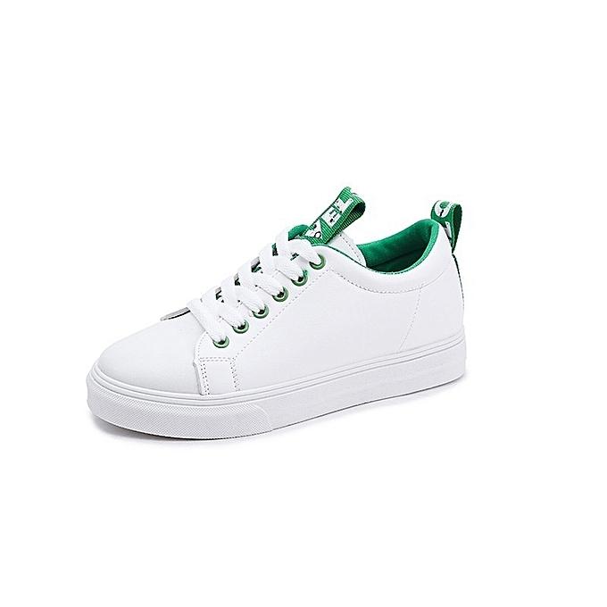 Autre Stylish Korean Flat Sole Students White Shoes à prix pas pas prix cher    Jumia Maroc 57fad2