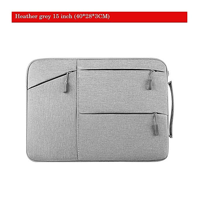 Other Soomile Laptop bag 15.6 inch for femmes and men Oxford sleeve bag notebook computer handbag case Portable Men Briefcase (heather gris 15 inch) à prix pas cher