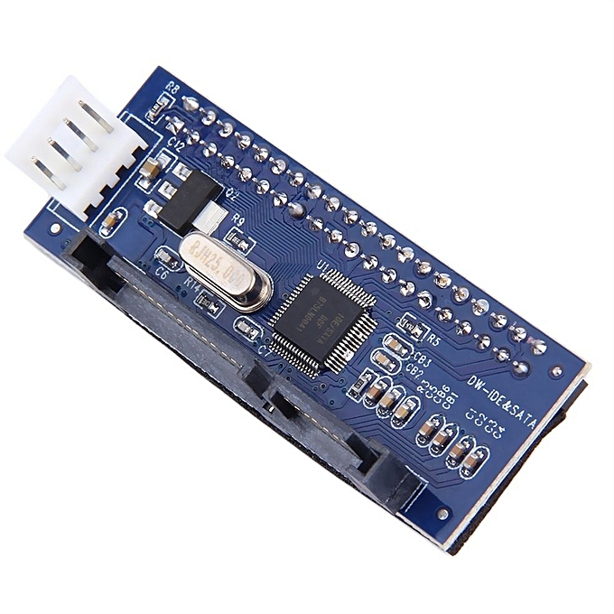 ... 40-Pin IDE Female To SATA 7+15Pin 22-Pin Male Adapter PATA ...