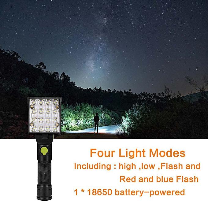 Electronic New LED Work Light Magnet Flashlight with Hook Folding Torch à prix pas cher