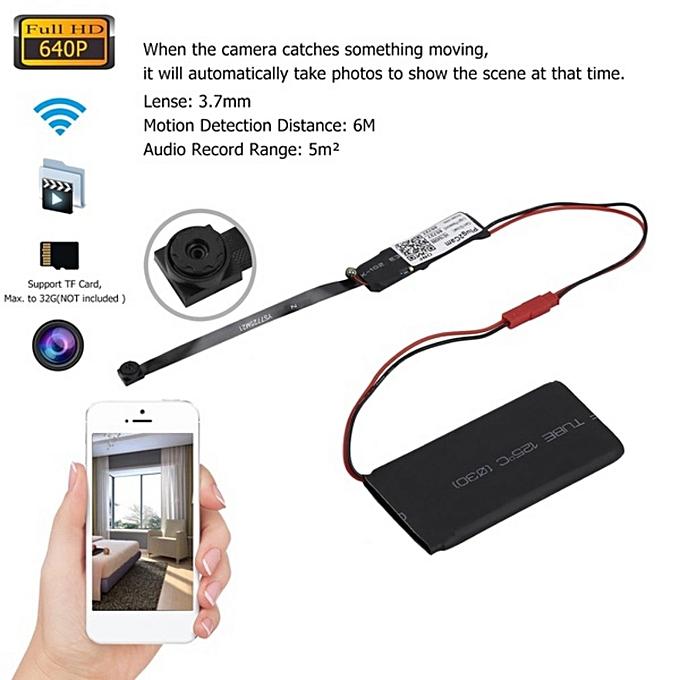 g n rique mini camera cachee wifi ip espion cnnect par t l phone au maroc pas cher jumia maroc. Black Bedroom Furniture Sets. Home Design Ideas