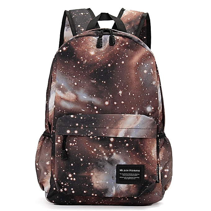 Fashion Canvas starry sky bag backpack backpack à prix pas cher