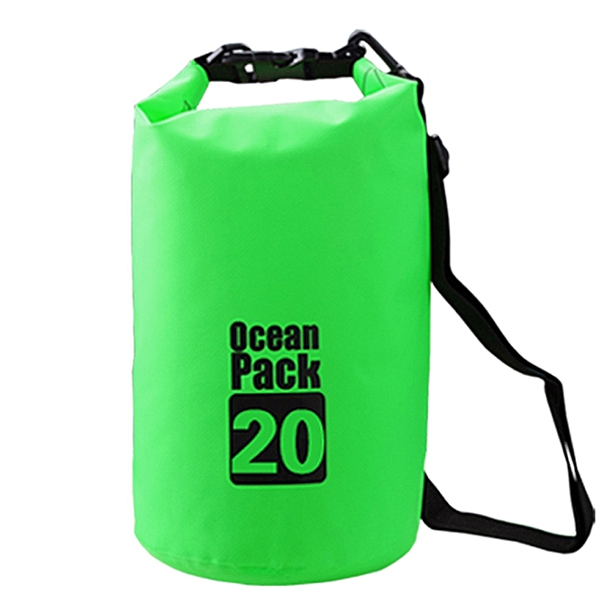 Generic Tcetoctre Waterproof Dry Bag Outdoor Sport Swimming Rafting Kayaking Sailing Canoe - vert à prix pas cher