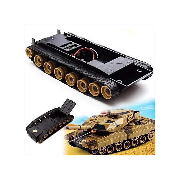 UNIVERSAL Cheap Small Smart Robot Tank Chassis Tracking Car DIY For Arduino SCM à prix pas cher