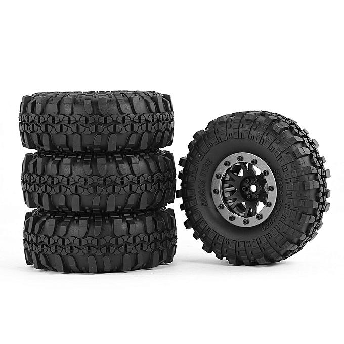 Generic AX 4020-5 110mm 1.9in Tire Beadlock Wheel Rim for 1 10 SCX10 90046 D90 RC voiture à prix pas cher