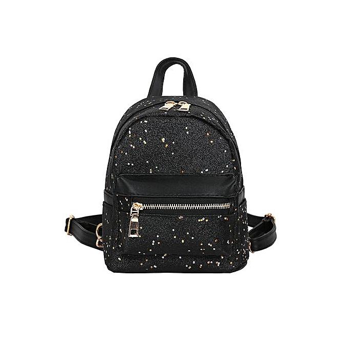 mode Xiuxingzi Girl Sequins cuir School sac sac à dos Satchel femmes Trave Shoulder sac à prix pas cher