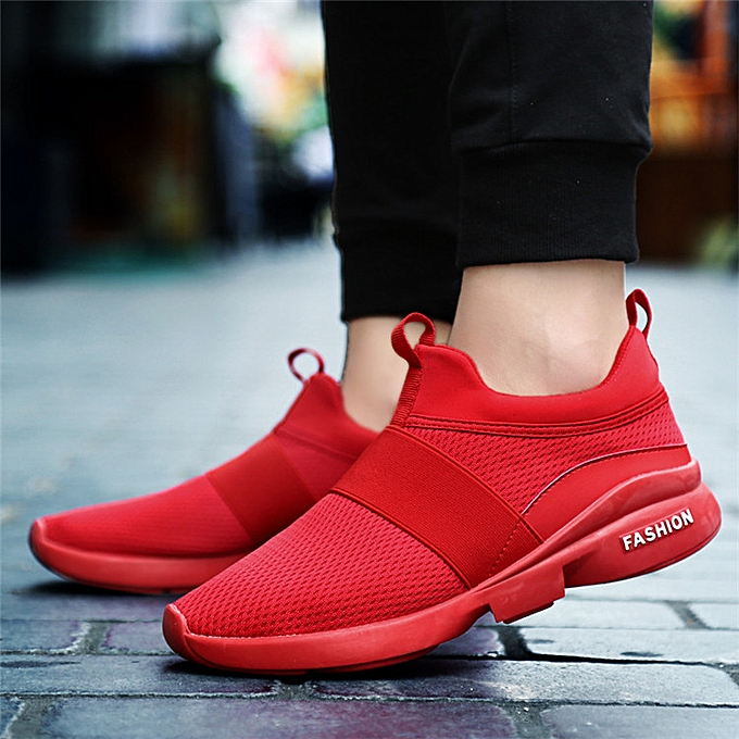 Fashion Men's Casual Running Sport chaussures Flats Outdoor Slip on chaussures baskets à prix pas cher