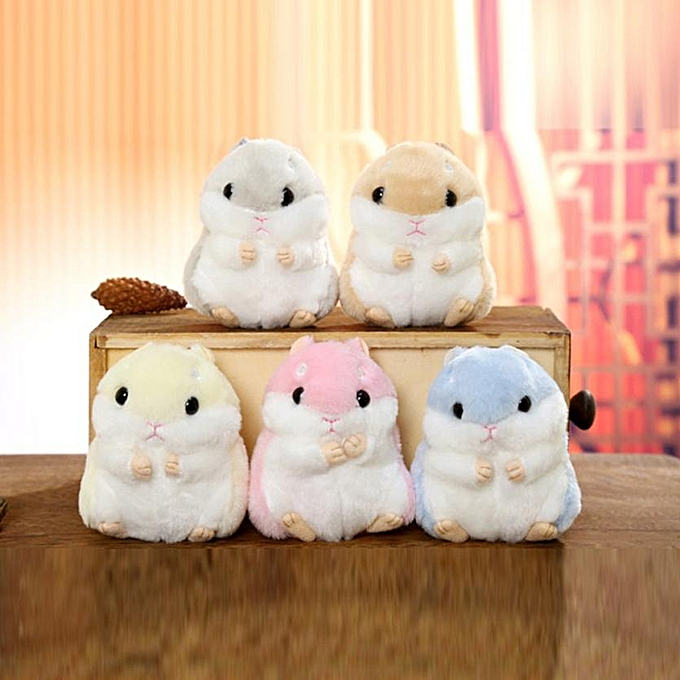 Autre Low Price Loss Sale Cute Plush Hamster Pendant Key Chain Clasp Key Ring Keyring Handbag Decor Flower Toy Funny Kids Gift(A) à prix pas cher
