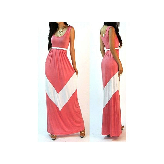 mode Sexy femmes Maxi Robe rouge plage Long Robe Multiway Bridesmaids Convertible Wrap Party Robees Robe Longue Femme-rose à prix pas cher