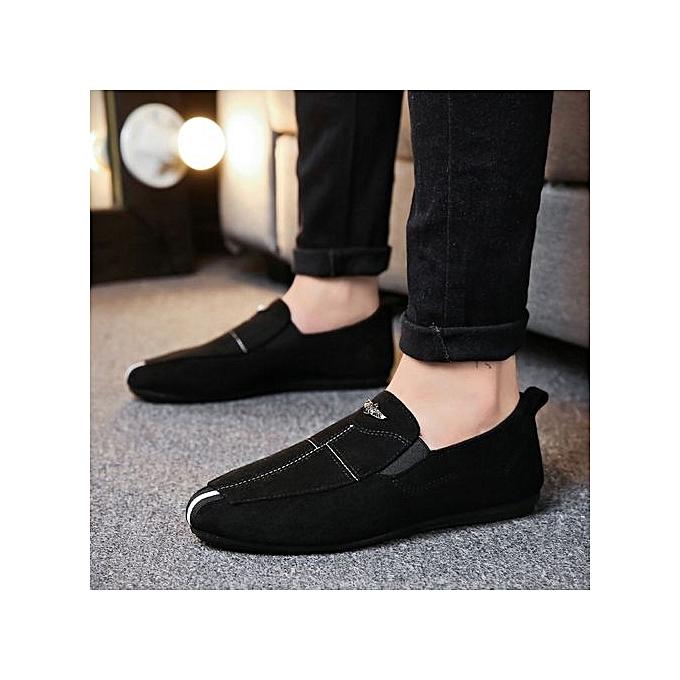 Zant Genuine Leather Loafers  's Casual Business Moccasins Shoes à à Shoes prix pas cher  | Jumia Maroc 3c4ba9