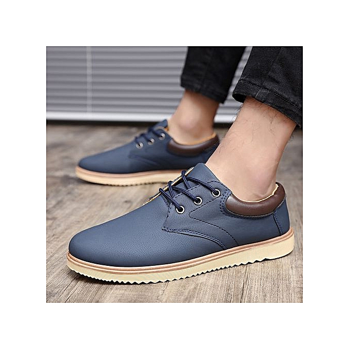 OEM New hommes chaussures Korean chaussures trend low to help young hommes chaussures hommes casual sports increased single chaussures-bleu à prix pas cher    Jumia Maroc