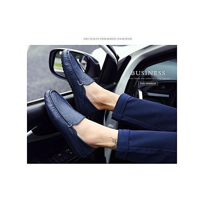 Générique Refined Autumn Refined  's Shoes Korean Version    's Lazy Shoes-Bleu  à prix pas cher  | Jumia Maroc bad94a