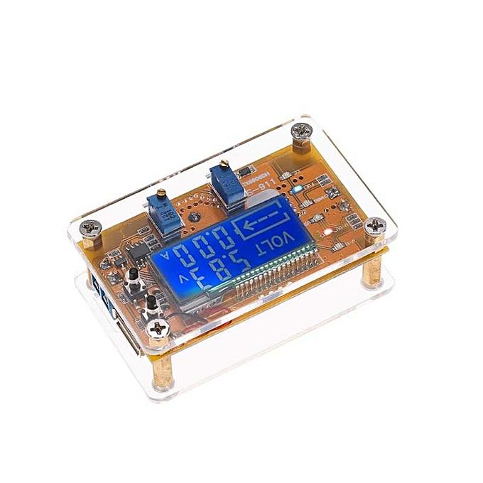 OEM LCD Digital DC-DC Adjustable Step-down Power Supply USB Charge Module DIY Kit Constant Voltage Current Voltmeter Ammeter Peak Current 5A à prix pas cher