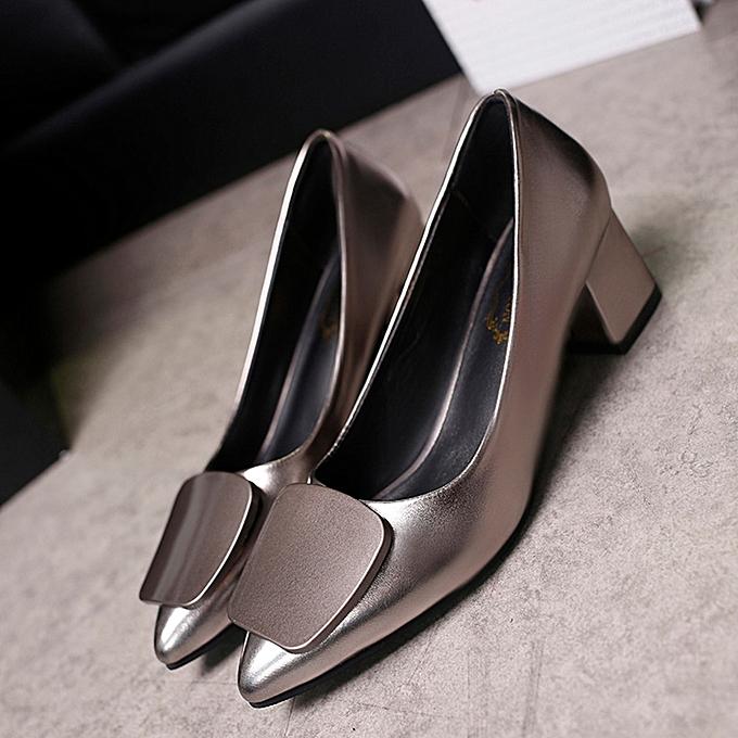 Générique Chaussures à Talons pour Femmes -   Gris à prix pas cher    - Jumia Maroc 37d5fc