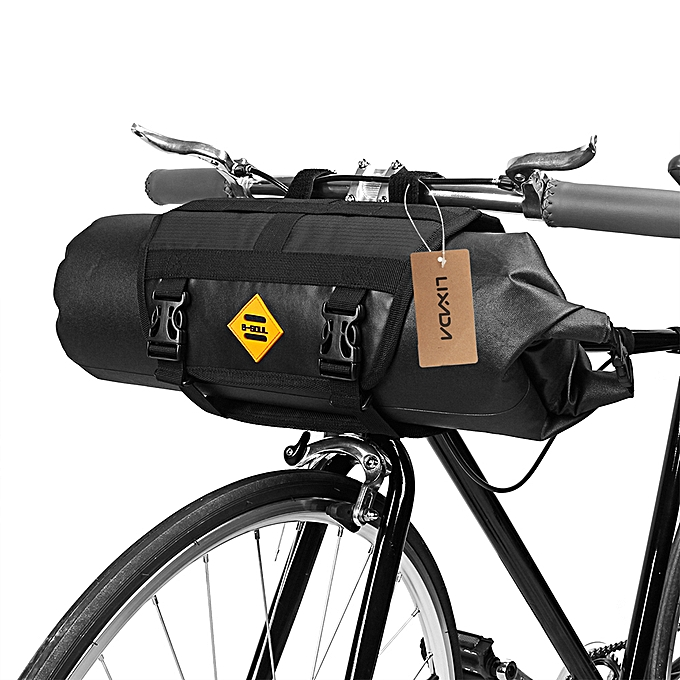 Other Lixada Waterproof Bicycle Handlebar Bag Cycling MTB Bike Front Basket Bag Pannier à prix pas cher