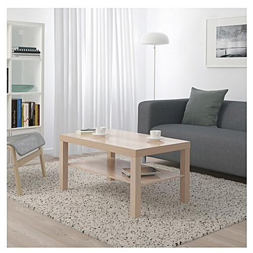 Table Table Basse 90x55 Blanche Basse Cm MVLGzjpSUq