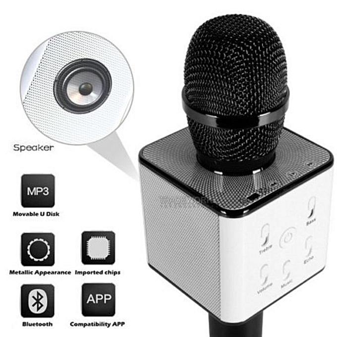 microphone sans fil karaok bluetooth avec haut parleur