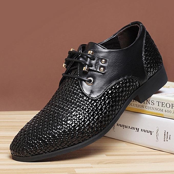 Other Fahter Single chaussures  Manual Weaving-noir à prix pas cher    Jumia Maroc
