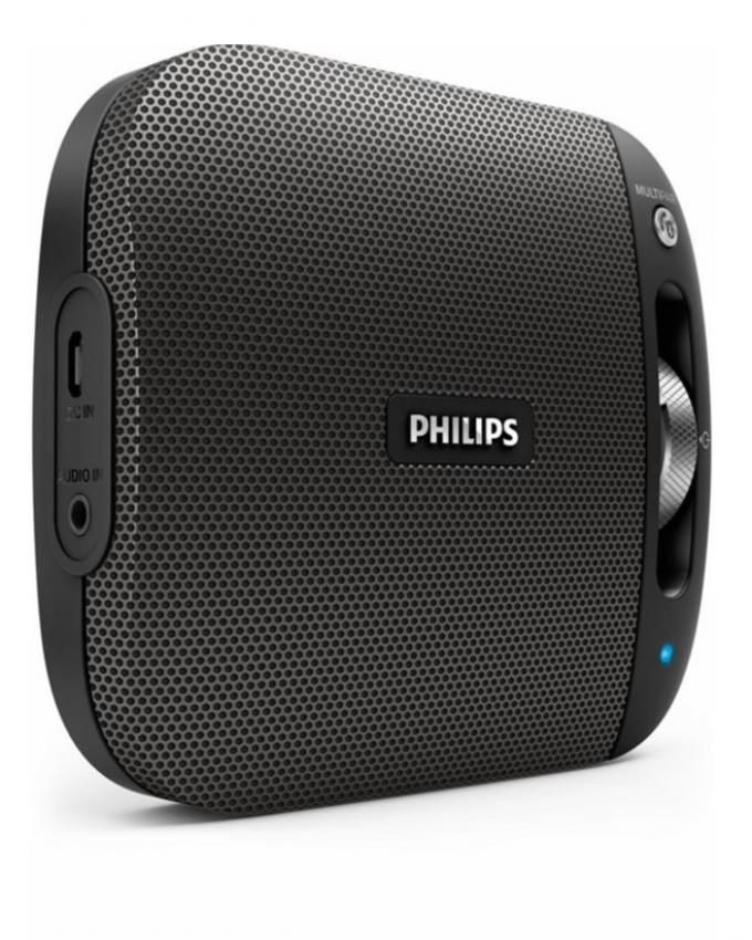 philips enceinte bluetooth nfc bt2600b compacte sans fil. Black Bedroom Furniture Sets. Home Design Ideas