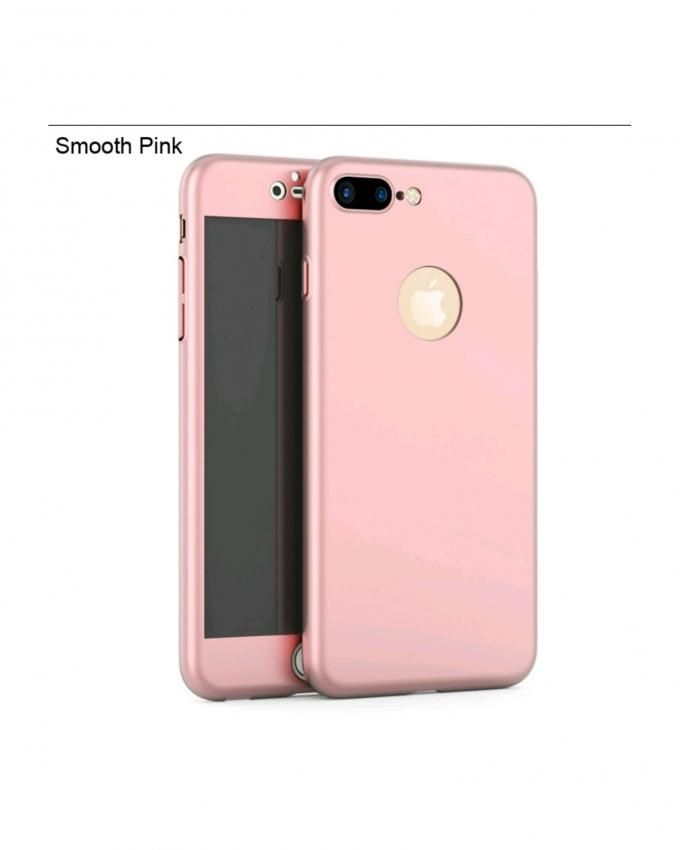 fashion case coque protection 360 rose gold pour iphone 7 verre incassable acheter en ligne. Black Bedroom Furniture Sets. Home Design Ideas