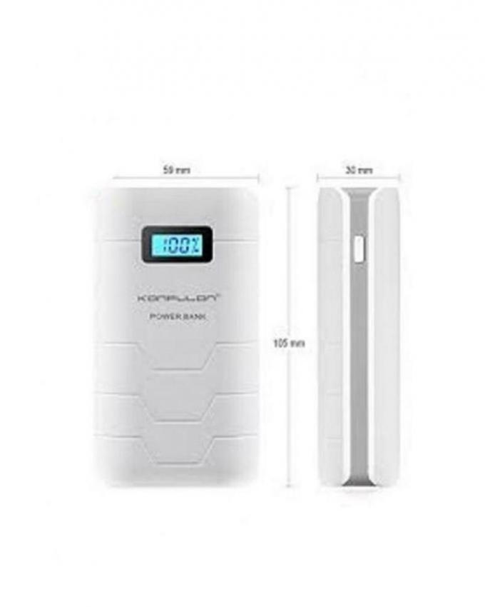 konfulon batterie externe originale power bank lcd capsule 10000 mah dual usb acheter en ligne. Black Bedroom Furniture Sets. Home Design Ideas