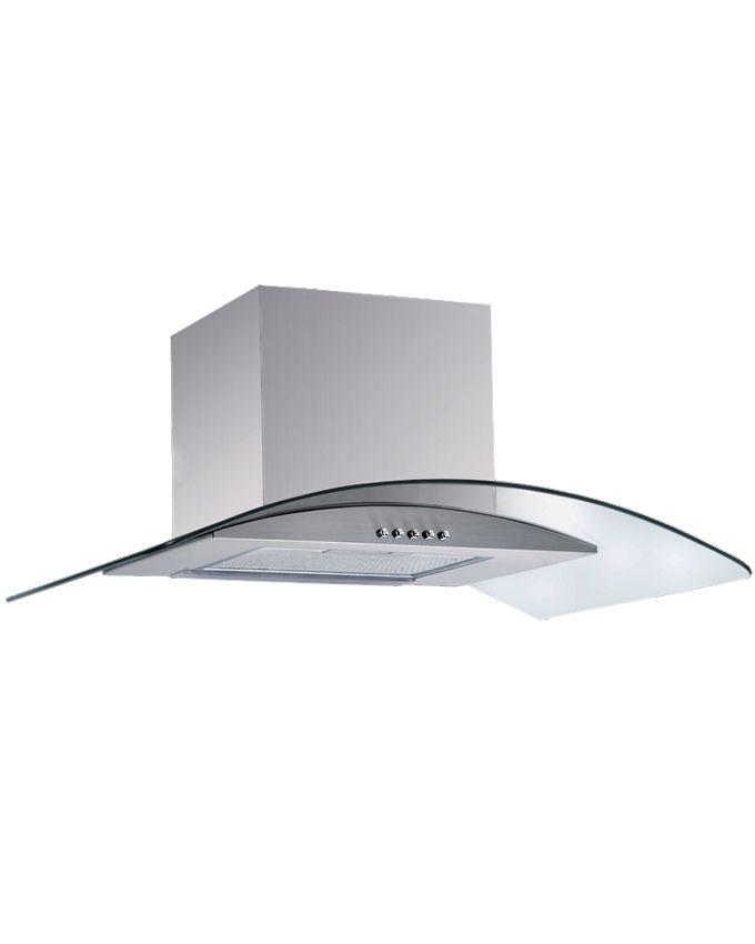 kr hler hotte chemin e en verre inox 650m3 h 90 cm acheter en ligne jumia maroc. Black Bedroom Furniture Sets. Home Design Ideas