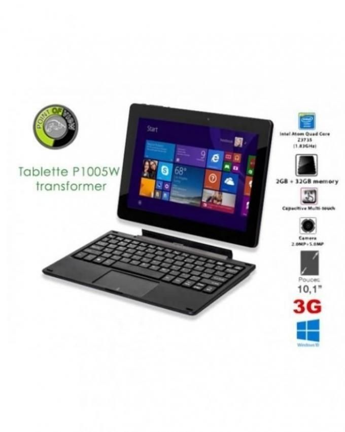 point of view tablette p1005w transformer 32gb pc. Black Bedroom Furniture Sets. Home Design Ideas