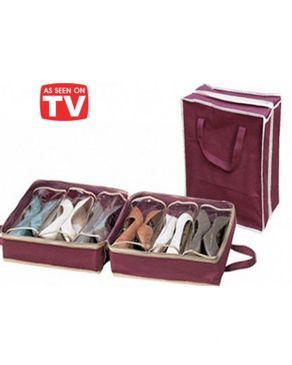 as seen on tv housse rangement chaussures acheter en. Black Bedroom Furniture Sets. Home Design Ideas
