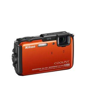 Nikon COOLPIX AW110 - Carte SD GO - Orange