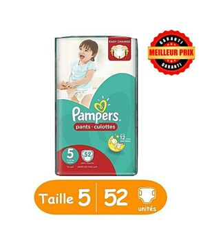 Pampers couches b b pants culottes taille 5 junior 12 18 kg 52 unit s acheter en - Couches culottes pampers ...