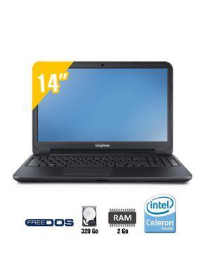 """Dell INSPIRON 3421 - intel pentium - 320 GO - écran 14"""""""