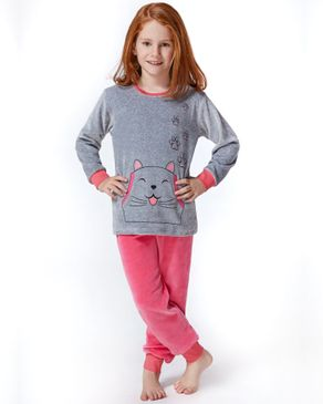 rolypoly pyjama avec patte de chat gris acheter en ligne jumia maroc. Black Bedroom Furniture Sets. Home Design Ideas