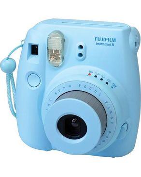 "Fujifilm INSTAX MINI 8 - Carte SD GO - écran 3.2"" - Bleu"