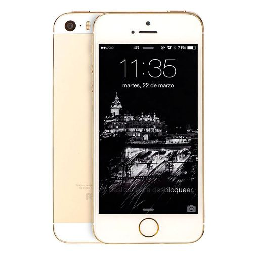 Apple IPhone 5S Smartphone 32GB- Or - Reconditionné (Gift)