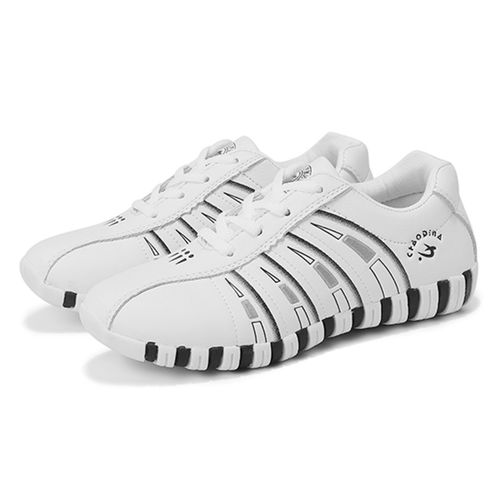 Fashion Fashion Women Printing Trainers Lace Up Comfortable Sport Casual Sneakers Shoes