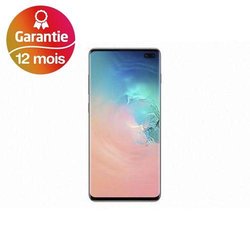 "Galaxy S10+, 6.4"", 8Go, 128Go - Blanc - Garantie 1 an"