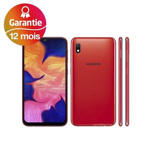 "Galaxy A10, 6.2"", 2Go, 32Go - Rouge - Garantie 1 an"